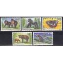 Cook Islands - loomad, liblikad 1993, **