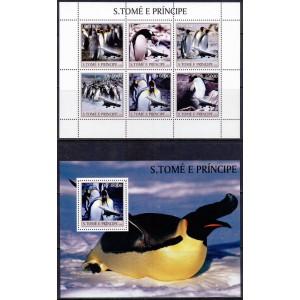 S.Tomé ja Príncipe - pingviinid ja lennukid 2003, **