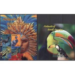 Guyana - linnud ja kahepaiksed 2014, **