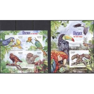 Burundi - linnud (II) 2012, lõigatud **