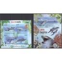 Burundi - delfiinid (I) 2012, lõigatud **