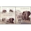 Burundi - loomad, elevandid 2012, lõigatud **