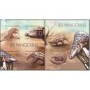 Burundi - loomad (II) 2012, lõigatud **