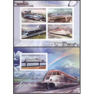 Burundi - rongid 2012, lõigatud **