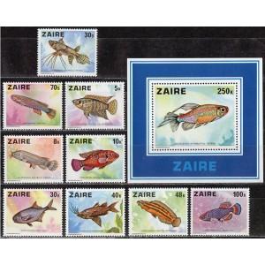 Zaire - kalad 1978, **