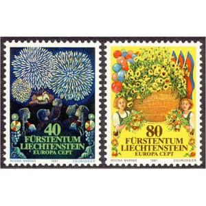 Liechtenstein - Europa 1981, **
