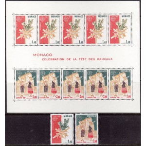 Monaco - Europa 1981, folkloor, **