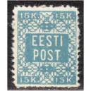 1918 15k Lillemuster, hammastatud, *