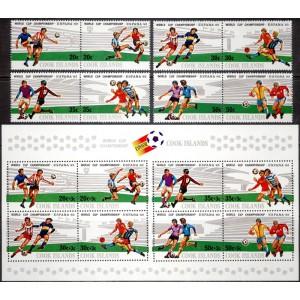Cook Islands - jalgpalli MM, Espana 1982, **
