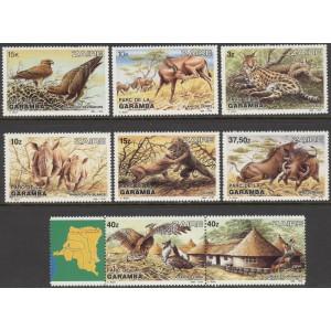 Zaire - loomad, linnud 1984, **