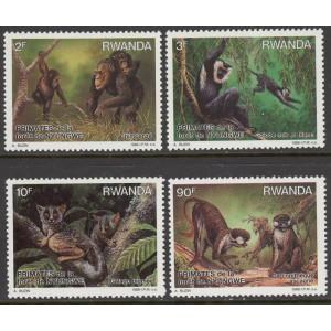 Rwanda - loomad 1988, **