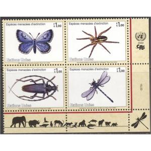 ÜRO (Genf) - putukad, liblikad 2009, **