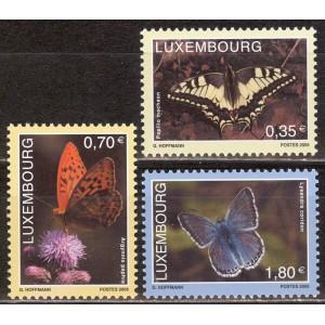 Luksemburg - liblikad 2005, **