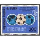 Benin - jalgpalli MM, Mexico 1986, **