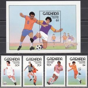 Grenada - jalgpalli MM, Mexico 1986, **