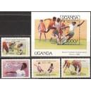 Uganda - jalgpalli MM, Mexico 1986, **
