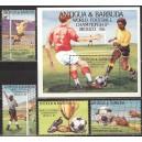 Antigua ja Barbuda - jalgpalli MM, Mexico 1986, **