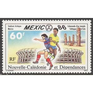 Uus-Kaledoonia - jalgpalli MM, Mexico 1986, **