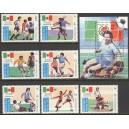 Laos - jalgpalli MM, Mexico 1986, **