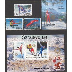 Põhja-Korea - Sarajevo 1984 olümpia (I), **