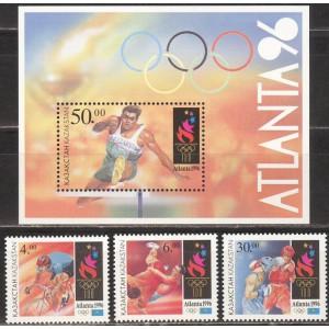 Kasahstan - Atlanta 1996 olümpia, **