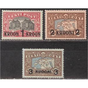 Eesti 1930, Krooniületrükid, (MNH) **