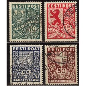 """Eesti 1939, """"Ühisabi"""" Caritas, templiga"""
