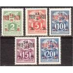 Eesti 1928, Kangur ja sepp ületrükk (II), *