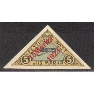Eesti 1923, Õhupost ületrükk 15m, (MH) *