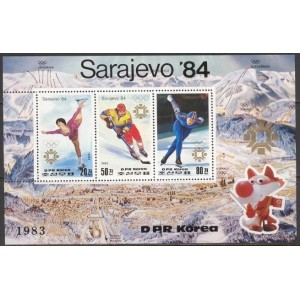 Põhja-Korea - Sarajevo 1984 olümpia (II), **