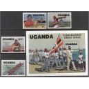 Uganda - Los Angeles 1984 olümpia ületrükk, **
