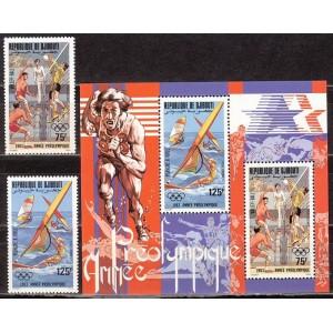 Djibouti - Los Angeles 1984 olümpia, **
