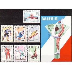 Kampuchea - Sarajevo 1984 olümpia (II), **