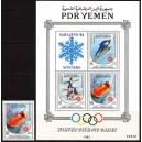 Lõuna-Jeemen - Sarajevo 1984 olümpia ületr., **