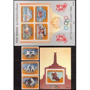 Lõuna-Jeemen - Los Angeles 1984 olümpia, **