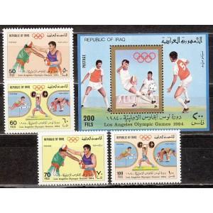Iraak - Los Angeles 1984 olümpia, **