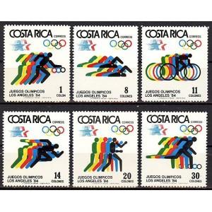 Costa Rica - Los Angeles 1984 olümpia, **