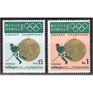 Pakistan - Mexico 1968 olümpia, **