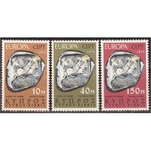 Küpros - Europa 1974, **