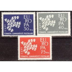 Türgi - Europa 1961, **