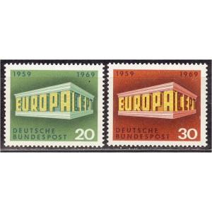 Saksamaa - Europa 1969, **