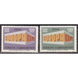 Türgi - Europa 1969, **