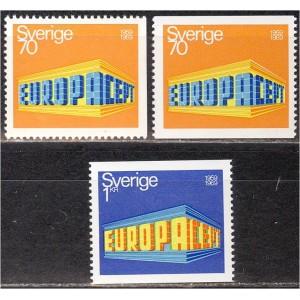 Rootsi - Europa 1969, **