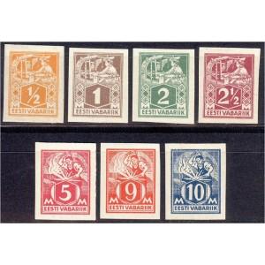 Eesti 1922/23, Kangur ja sepp, lõigatud MH/MLH