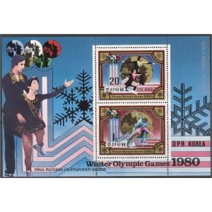 Põhja-Korea - Lake Placid 1980 olümpia I, **