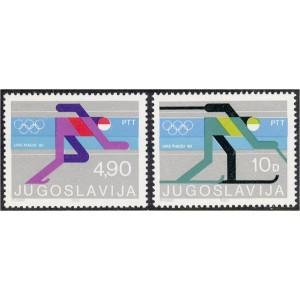 Jugoslaavia - Lake Placid 1980 olümpia, **