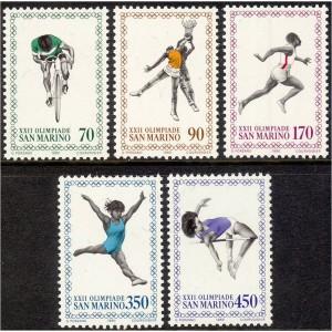 San Marino - Moskva 1980 olümpia, **