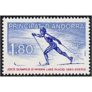 Andorra (pr.) - Lake Placid 1980 olümpia, **
