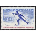 Andorra (Prants.) - Lake Placid ´80, MNH