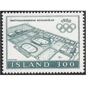 Island - Moskva 1980 olümpia, **